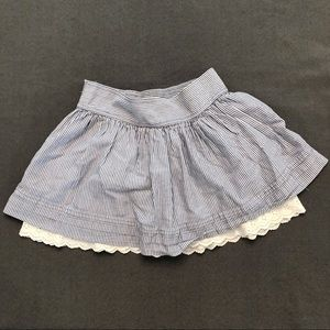 *LAST CALL* Hollister Striped Lace Low Rise Skirt